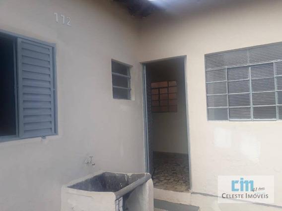 Casa Com 1 Dormitório Para Alugar, 34 M² Por R$ 700/mês - Vila Ginasial - Boituva/sp - Ca0545