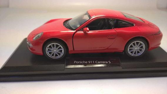 Porsche 911 Carrera S Escala 1:36 Marca Welly Rosario