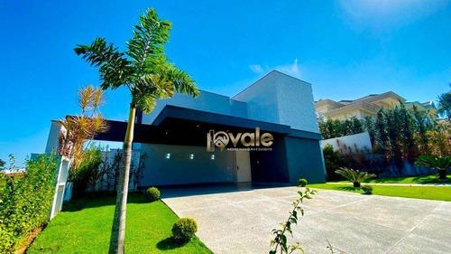 Imagem 1 de 30 de Casa De Luxo Com 5 Suítes À Venda, Condomínio Reserva Do Paratehy - São José Dos Campos/sp - Ca2163