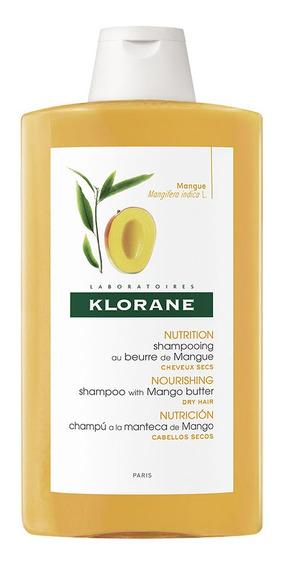 Shampoo Klorane Mango Cabello Seco X 400 Ml