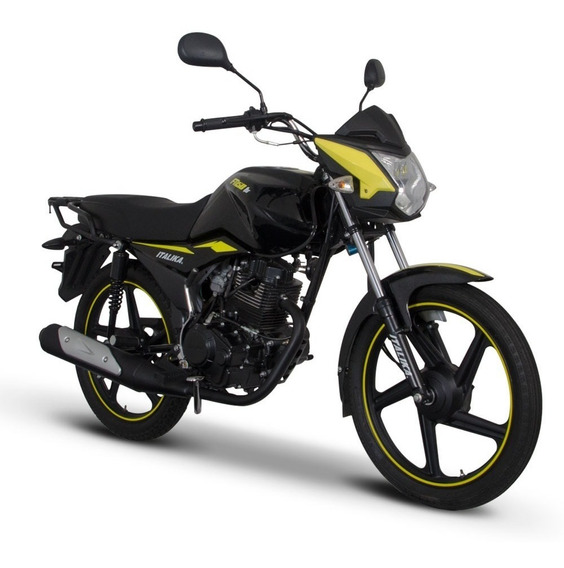 Moto Italika Ft150 Ts Negro Amarillo New