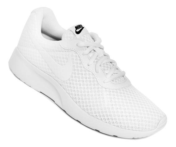 Tenis Nike Tanjun Blanco Unisex 812655 110 + Envio Gratis