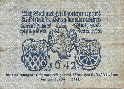 Imagen 1 de 2 de Alemania 1  Marcos 1918