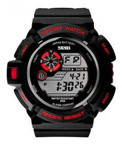 Relógio Militar Skmei S-shock Masculino Resistente À Água