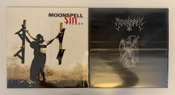 2 Lps Moonspell Sin Pecado (2013) + Anno Satanae (2012)