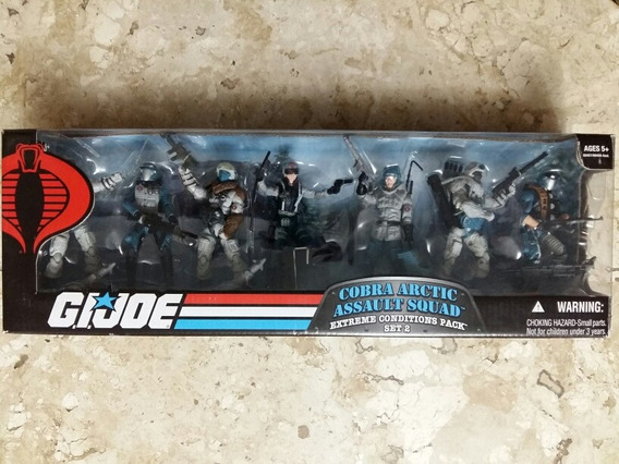 Gi Joe 25th- Cobra Artic- Assault Squad
