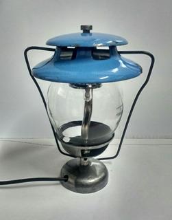 Luminária De Lampião A Gás Reestilizado Para Elétrico.