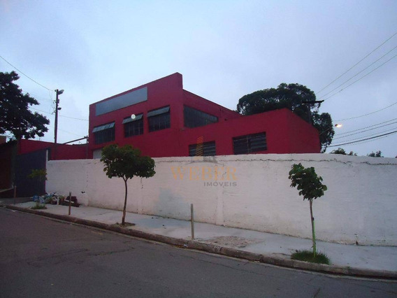 Galpão Comercial Para Venda E Locação, Jardim Monte Alegre, Taboão Da Serra - Ga0012. - Ga0012