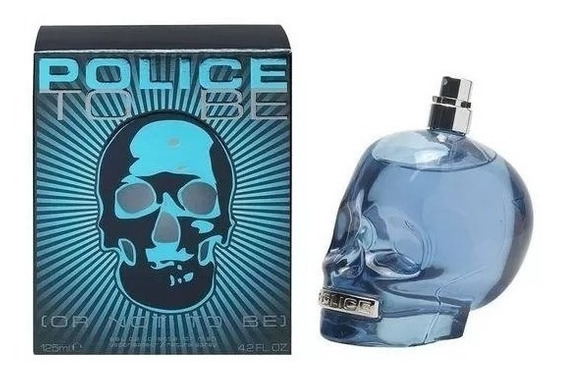 Perfume Police To Be Masculino Edt 125 Ml - Original
