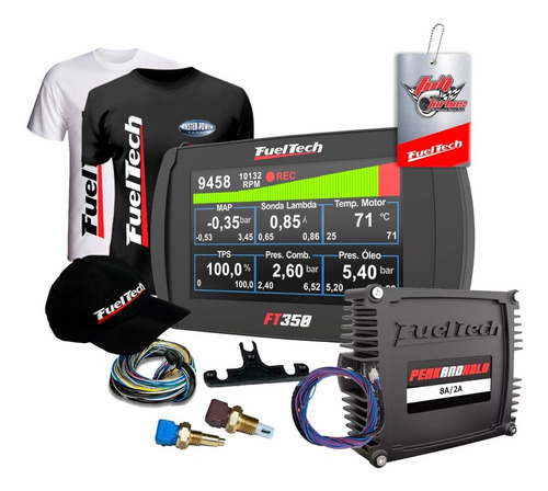 Fueltech Ft350 + Peak And Hold 8a + Sensores + Ultra Brindes