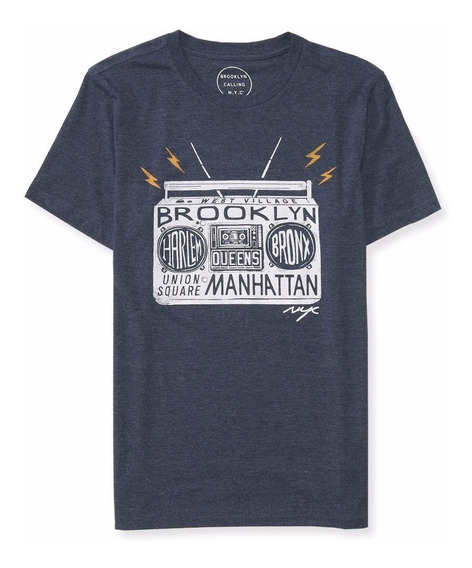 Aeropostale Mens West Village Remera Talle M Importada