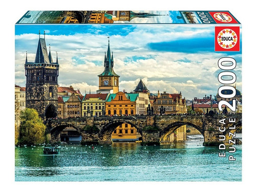 Puzzle Rompecabeza 2000 Pzas Vistas De Praga Educa 18504