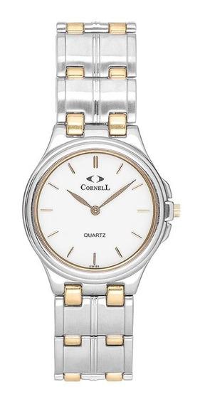 Reloj Cornell Swiss 1870 Sumergible Cr-7001.1tw, Acero Quirú
