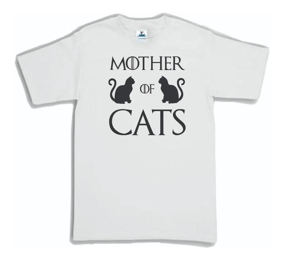 Playera Game Of Thrones Mother Of Cats Madre De Gatos