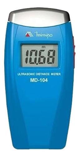 Imagen 1 de 2 de Medidor Digital De Distancia Ultrasonico Minipa Md-104 Metro