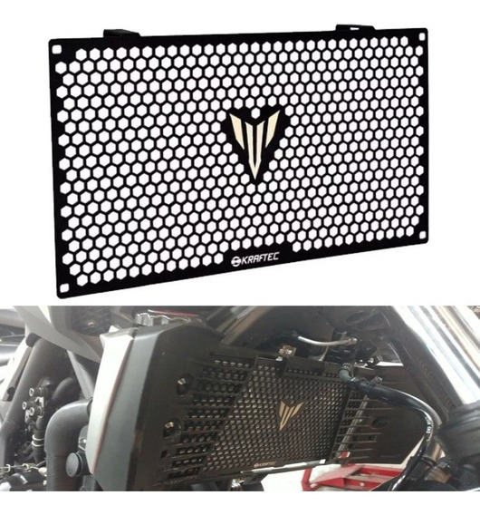 Cubre Radiador Protector Yamaha Yzf R3 Logo R3