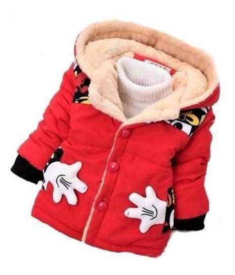 Jaqueta Infantil Frio Casaco Inverno Menino Sobretudo
