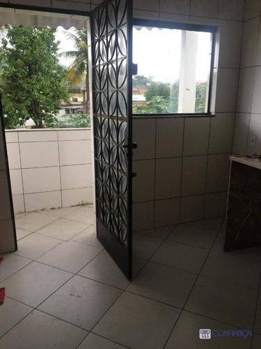 Imagem 1 de 18 de Casa Com 3 Dormitórios Para Alugar, 70 M² Por R$ 1.000,00/mês - Campo Grande - Rio De Janeiro/rj - Ca1513