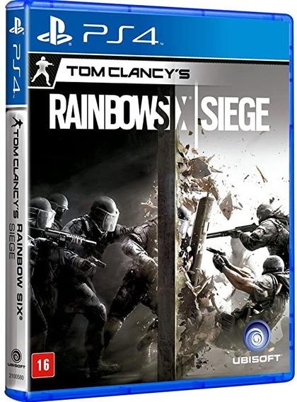 Jogo Rainbow Six Siege - Ps4, Disco Novo, Lacrado