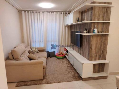 Apartamento Com 3 Dormitórios À Venda, 80 M² Por R$ 731.400,00 - Tatuapé - São Paulo/sp - Ap0813
