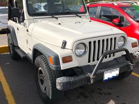 Jeep Wrangler 2.5 Se Techo Lona At