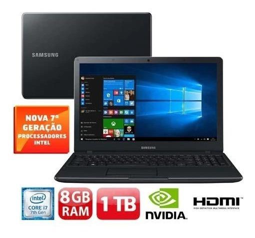 Notebook Samsung Core I7-7500u 8gb/1tb/2gbnvidi/15 /np300e5m