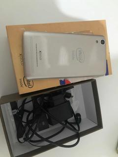 Celular Qbex W509 Gold (usado Defeito)