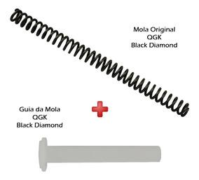 Peça Reposição Carabina Qgk Black Diamond Mola + Guia Mola