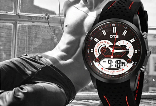 Relógio O.t.s  Anadigi Casual
