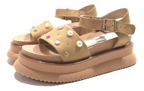 Encore 802 Sandalia Cuero Moda El Mercado De Zapatos!!