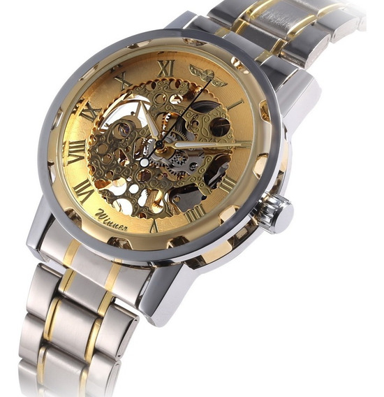 Reloj Mecanico Mayoreo 5 Piezas Marca Winner