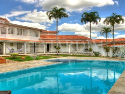 Imagem 1 de 10 de Oportunidade  | Mansão | Venda | Aguas De São Pedro - Ca00877 - 69422941