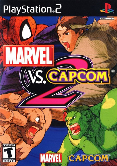 Marvel Vs Capcom - New Age Of Heroes Ps2 Game