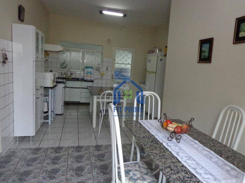 Casa Com 3 Dormitórios À Venda, 160 M² Por R$ 450.000 - Parque Estoril - São José Do Rio Preto/sp - Ca0431