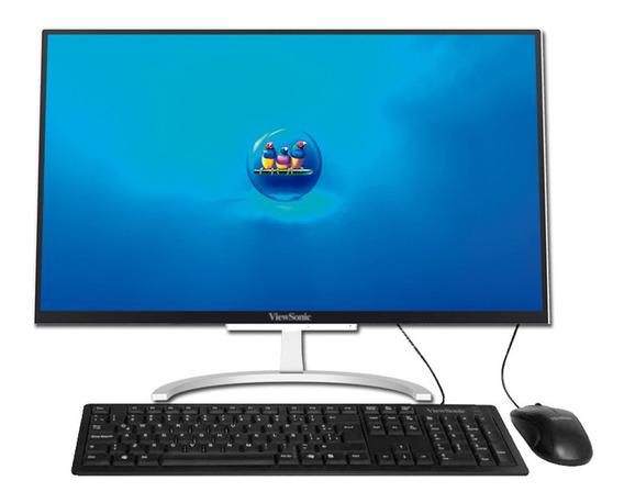Pc All In One 23 Viewsonic Vpc2381 Intel 4417u 4gb 1t Cuotas