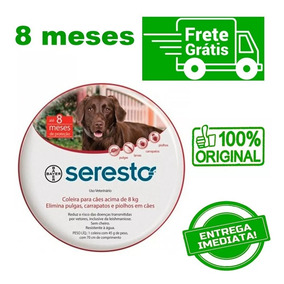 Coleira Seresto Bayer Grande (g) Cães Acima 8kgs (val. 2022)