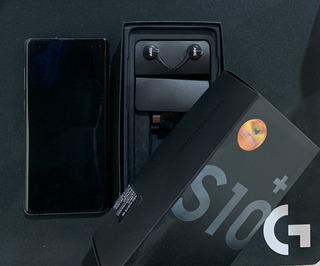 Celular Samsung Galaxy S10+ 128 Gb Na Garantia! Novíssimo!