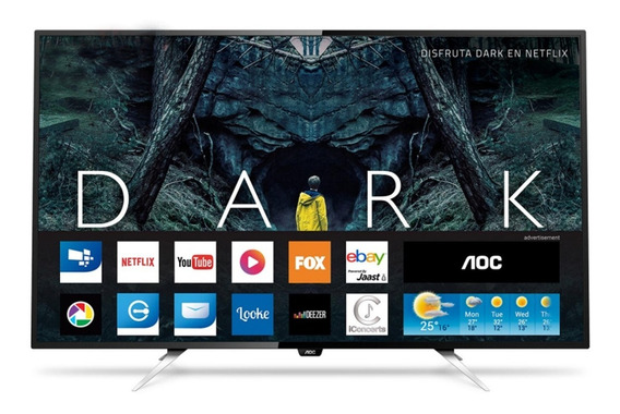 Smart Tv Led Aoc 4k 50 Modelo2020 Netflix Gtia Ofic 2 Años