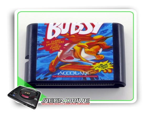 Bubsy Sega Mega Drive / Genesis - Novo