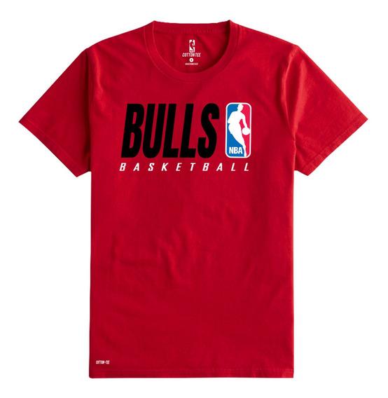Camiseta O Playera Chicago Bulls Caballero