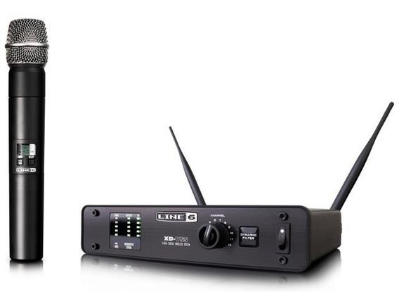 Microfone S/fio Line6 Hand Xd-v55hh + Nf E Grtia