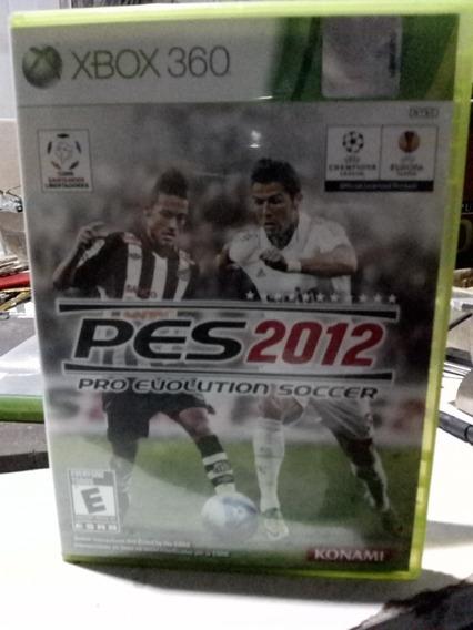 Pro Evolution Soccer 2012 - Pes 2012 - Xbox 360 - Original