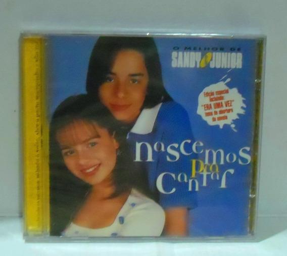Cd Sandy & Junior Nascemos Pra Cantar Novo Nã Xuxa Eliane