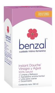 Benzal Instant Douche Vinagre Y Agua 180 Ml