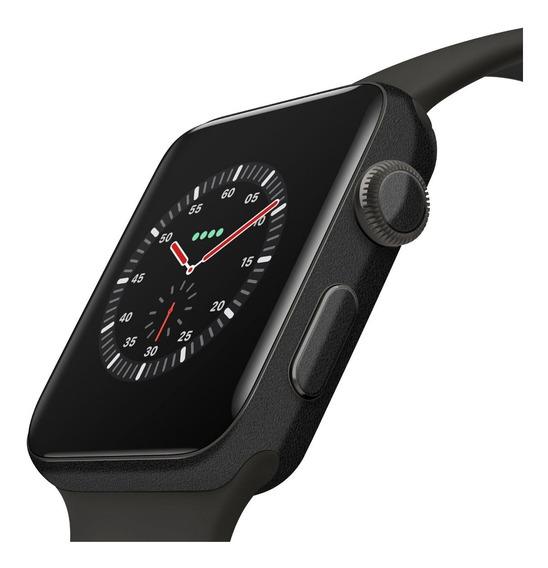Skin Preto Fosco 3m Apple Watch 44m Só Para Series 4