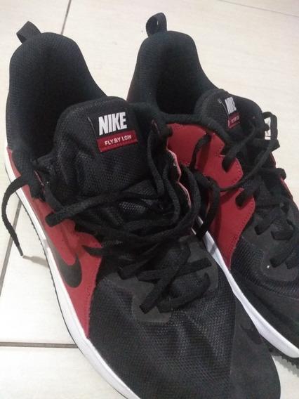 Tênis Nike Fly By Low Masculino- Vermelho E Preto