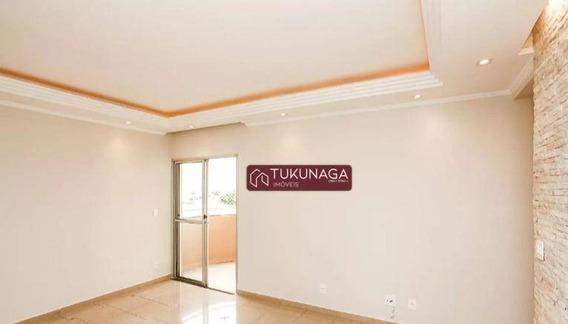 Apartamento Com 3 Dormitórios Para Alugar, 92 M² Por R$ 2.990/mês - Vila Augusta - Guarulhos/sp - Ap3769