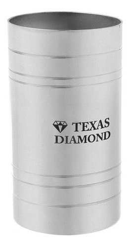 Imagem 1 de 1 de Copo Para Tereré Aço Inox Texas Diamond 29535