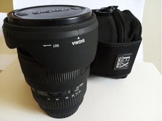 Lente Sigma 24-70mm 2.8 Para Canon Full Frame Oportunidade