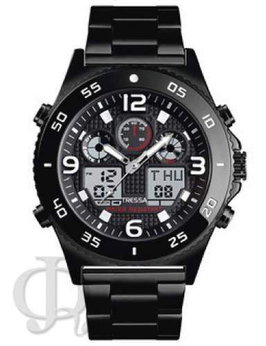 Reloj Hombre Tressa T-cilic  Acero Agente Oficial Jr